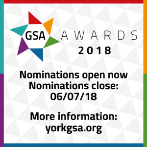 GSA Awards 2018 - Nominations open